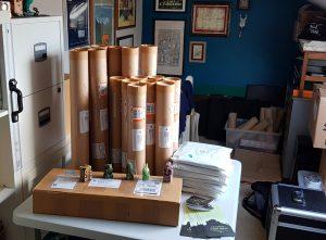 HP Lovecraft Literary Podcast 10th Anniversary Screenprint Shipping