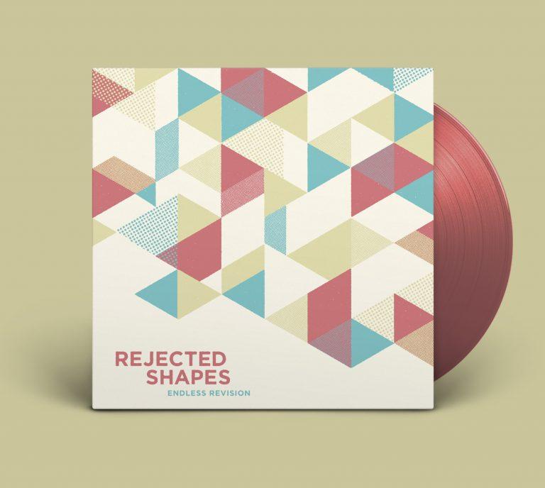 Rejected Shapes vinyl LP artwork by Graham Pilling